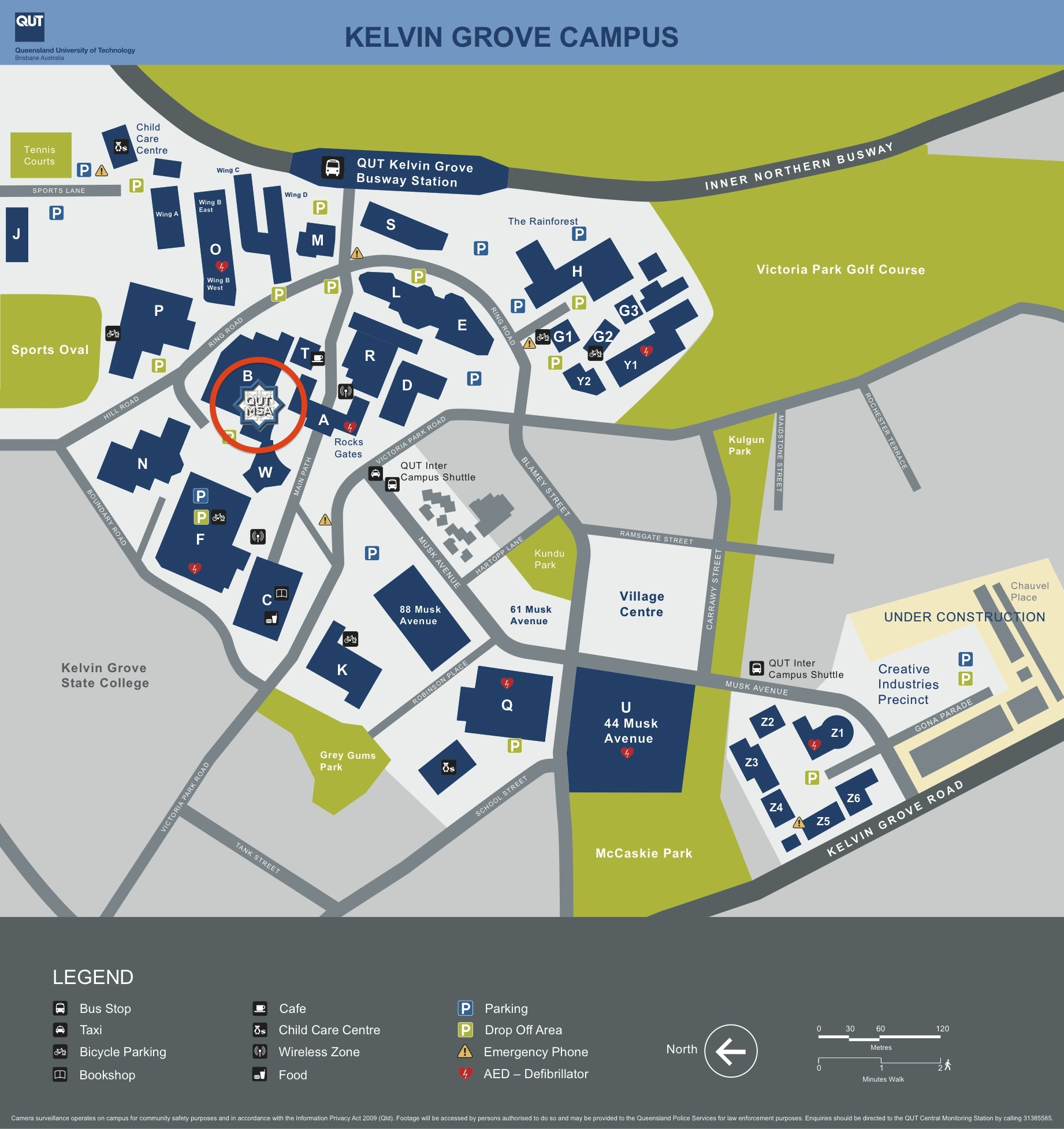 Qut Campus Map Qut Campus Map | compressportnederland Qut Campus Map
