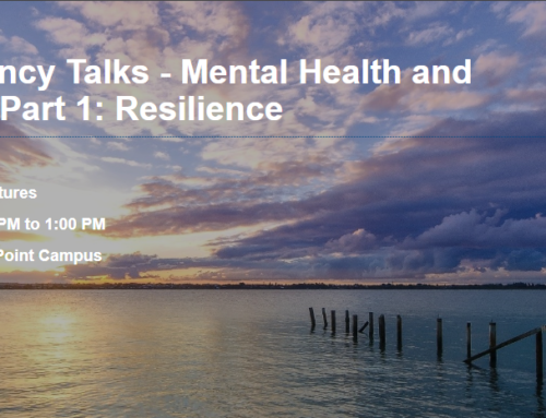 QUT Chaplaincy Talks  Part 1 – 8 August 2018 (Part 1: Mental Health and Spirituality – Resilience)