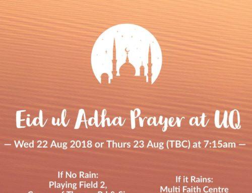 Eid Adha Prayer 2018